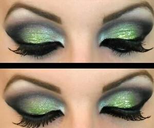 belleza, eyes, and make up image