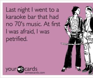 70's, karaoke, and bar image