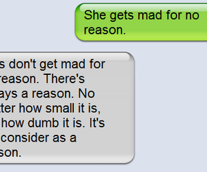 girl, text, and mad image