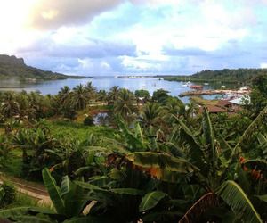 nice view, pohnpei, and rusty anchor image