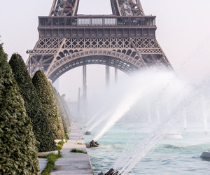 eiffel tower, paris, and sights image