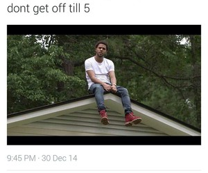 funny and j cole image