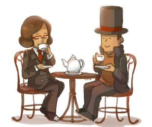 desmond, sycamore, and tea time image