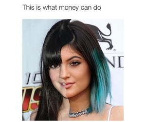 money, kylie jenner, and funny image