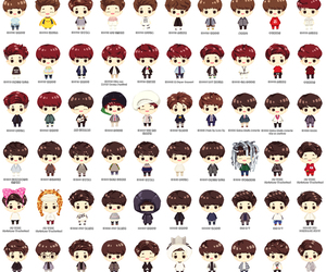 exo, cute, and d.o image