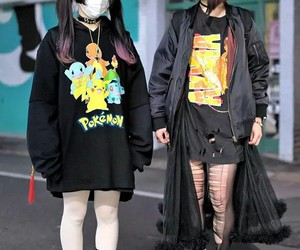 pokemon, fashion, and Harajuku image