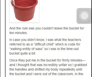 funny and bucket image
