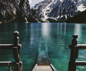 blue, sea, and mountains image