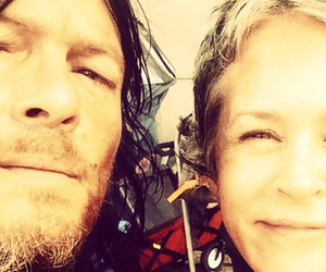 the walking dead, norman reedus, and melissa mcbride image