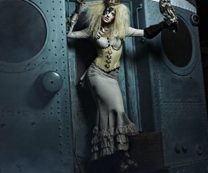ANTM, model, and steampunk image