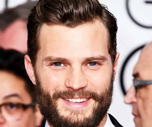 golden globes, Jamie Dornan, and fifty shades image