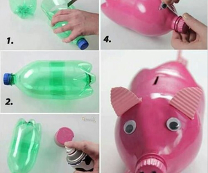 diy, pig, and pink image