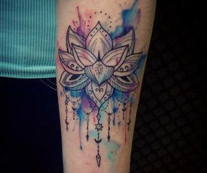 tattoo and colors image