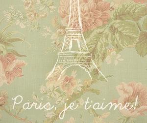 paris, flowers, and vintage image