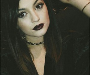 kylie jenner, jenner, and black image