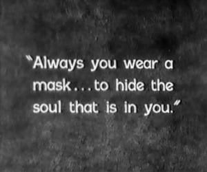 mask, quote, and soul image