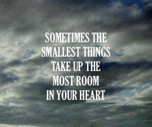 heart, quote, and small image