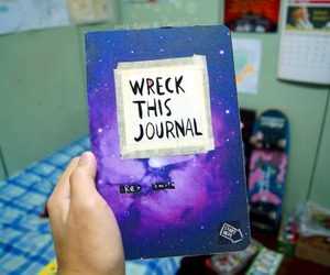 tumblr, wreck this journal, and book image