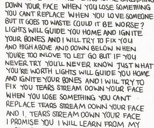 coldplay, fix you, and Lyrics image