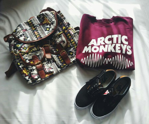 arctic monkeys, fashion, and outfit image