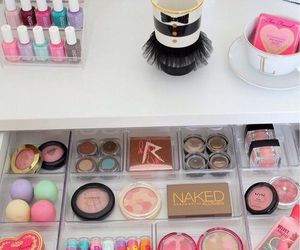 colors, girly, and make up image
