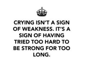 strong, crying, and life image