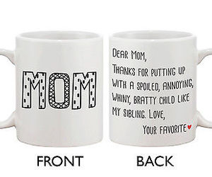 cup, mom, and mommy image
