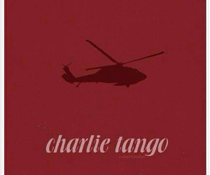 charlie tango and helicopter image