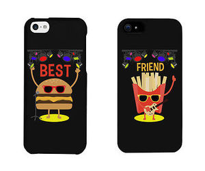 best friend, bff, and fries image