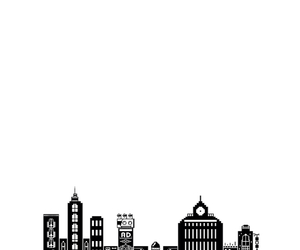 tumblr, city, and overlay image