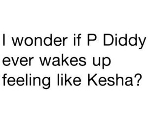 kesha and p diddy image