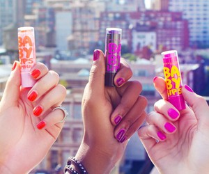 baby lips, lips, and nails image