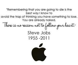 apple, Steve Jobs, and iphone image