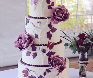 cake, wedding, and food image