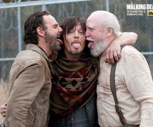 the walking dead, twd, and rick image