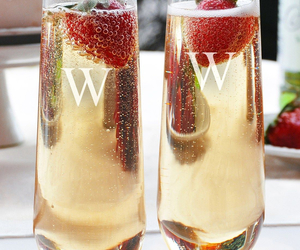 bubbles, champagne, and clear image