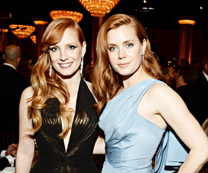 Amy Adams, jessica chastain, and golden globes image