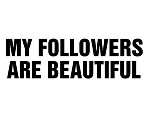 beatiful, lovely, and followers image