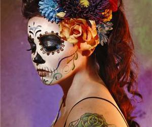 dia de los muertos and day of the dead image
