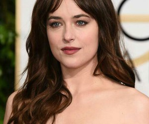 dakota johnson, fifty shades of grey, and golden globes image