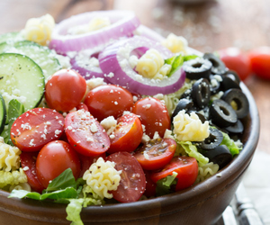 delicious, salad, and luscious image