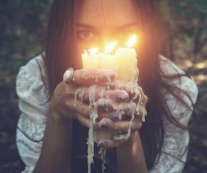 candles, candle, and grunge image
