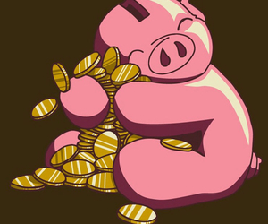 hug and pig image