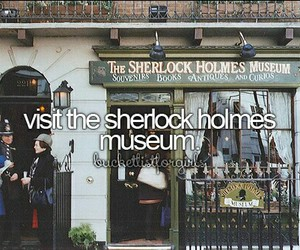 goals, museum, and sherlock holmes image