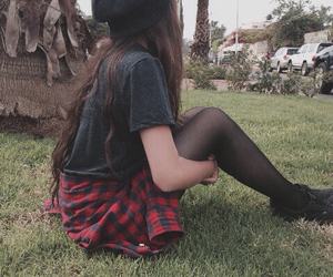 girl, grunge, and style image