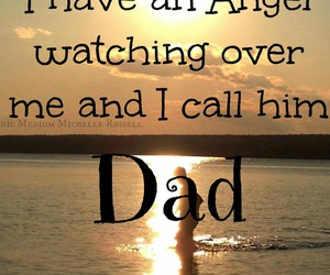 angel, dad, and death image