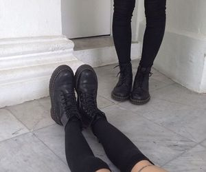 fashion, s4d goth, and shoes image