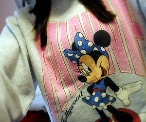 disney, girl, and minnie image