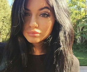 kylie jenner, lips, and beauty image