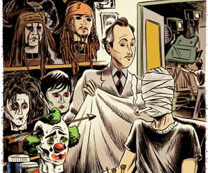 johnny depp, actor, and mask image